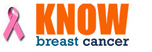 Know Breast Cancer Logo